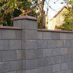 Наша компания изготовит на заказ крышки на забор бетонные